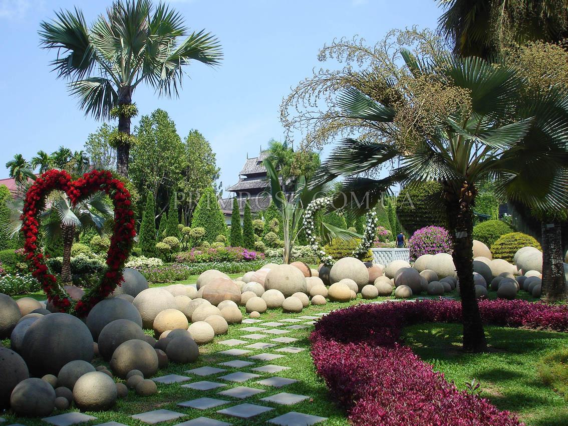 Тропический сад нонг нуч nong nooch tropical